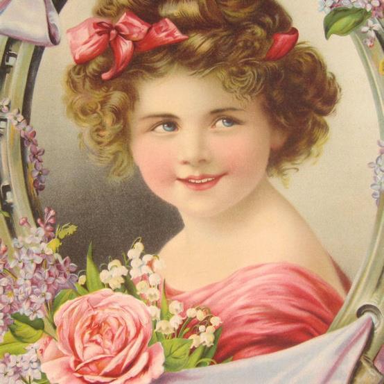 Vintage Calendar Girl Art : Immagini vittoriane ipizzidifrancesca